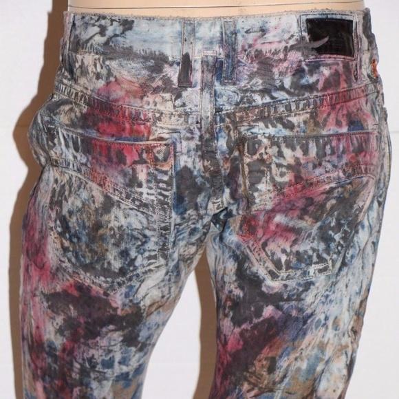 New Men/'s ROBIN/'S JEAN sz 32 MARLON Slim Jeans Coated Waxed